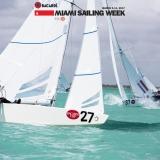 Star Class 8481 sailing at Bacardi Miami Sailing Week.