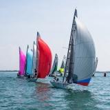 Viper 640 Class 244 sailing at Bacardi Miami Sailing Week.