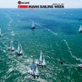 J70 Class sailing in Bacardi Miami Sailing Week.
