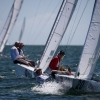 Star Class 8320 sailing in Bacardi Miami Sailing Week, day two.