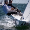 Star Class 8464 sailing in Bacardi Miami Sailing Week, day two.