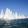 Star Class start at day 1 of Bacardi Miami Sailing Week.