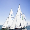 Star Class 8215 and 8179 sailing in Bacardi Miami Sailing Week, day one.