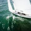 Star Class 8409 sailing in Bacardi Miami Sailing Week, day three.