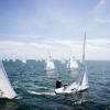 Star Class 8446 and 8320 sailing in Bacardi Miami Sailing Week, day three.