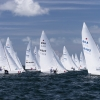 Star Class start at day three of Bacardi Miami Sailing Week.