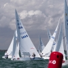 Star Class 8465 sailing in Bacardi Miami Sailing Week, day three.