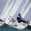 Star Class 8287 sailing in Bacardi Miami Sailing Week, day three.