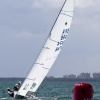 Star Class 8474 sailing in Bacardi Miami Sailing Week, day three.
