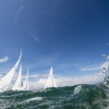 Star Class 8311 sailing in Bacardi Miami Sailing Week, day three.