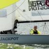 Jackpot, Viper Class, sailing in Bacardi Miami Sailing Week, day four.