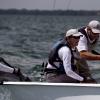 Arethusa, Viper Class, sailing in Bacardi Miami Sailing Week, day four.