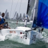 Little Wing, Melges 24 Class, sailing in Bacardi Miami Sailing Week, day four.