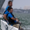 Pacific Yankee, Melges 20 Class, sailing in Bacardi Miami Sailing Week, day four.