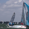 Ninkasi, Melges 20 Class, sailing in Bacardi Miami Sailing Week, day five.