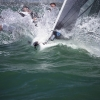 Little Wing, Melges 24 Class, sailing in Bacardi Miami Sailing Week, day five.