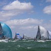 Ninkasi and Wild Deuces, Melges 20 Class, sailing in Bacardi Miami Sailing Week, day five.