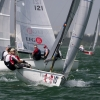 Viper Class 225 sailing at Bacardi Miami Sailing Week, day four.