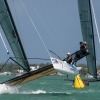M32 Class sailing at Bacardi Miami Sailing Week, day four.