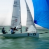 Viper Class 201 sailing at Bacardi Miami Sailing Week, day four.