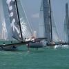 M32 Class sailing at Bacardi Miami Sailing Week, day five.