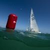 Star Class 8494 sailing at Bacardi Miami Sailing Week, day five.