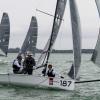 VX One Class 187 sailing at Bacardi Miami Sailing Week, day six.
