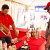 Bacardi Miami Sailing Week hospitality tent, opening reception.
