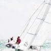 Star Class 8445 sailing at Bacardi Miami Sailing Week, day two.