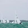 Star Class 8506 sailing at Bacardi Miami Sailing Week, day three.