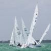 Star Class 8465 sailing at Bacardi Miami Sailing Week, day three.