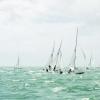Star Class 8386 sailing at Bacardi Miami Sailing Week, day three.