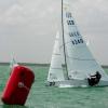 Star Class 8340 sailing at Bacardi Miami Sailing Week, day three.