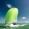 J70 Class 248 sailing at Bacardi Miami Sailing Week.