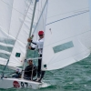 Star Class 8497 sailing at Bacardi Miami Sailing Week, day six. Photo by Cory Silken.