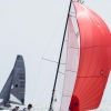 VX One Class 177 sailing at Bacardi Miami Sailing Week, day six. Photo by Cory Silken.