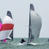 VX One Class 187 sailing at Bacardi Miami Sailing Week, day six. Photo by Cory Silken.