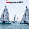 Monsoon and Mikey, Melges 24 Class, sailing in Bacardi Miami Sailing Week.