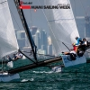 M32 Class sailing in Bacardi Miami Sailing Week.