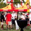 Bacardi Miami Sailing Week opeing party at Regatta Park.