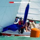 Flying Tiger Class 1 sailing in Miami Sailing Week, day two.