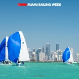 Flying Tiger Class sailing in Miami Sailing Week, day two.