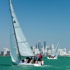 Flying Tiger Class 2 sailing in Miami Sailing Week, day two.